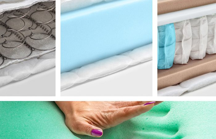 Difference between innerspring and a memory foam
